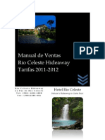 Rio Celeste Hideaway Tarifas 2011-2012