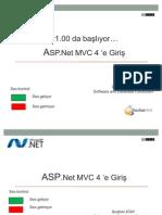 ASP.Net MVC 4 ' e Giriş