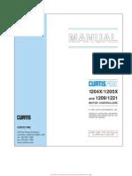 IMPRESO Manual, Circuitos y Potex. de Acelerador
