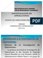 Introduccion Investigacion de Operaciones
