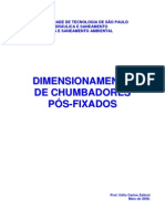 Dimensionamento de Chumbadores Pós-fixados