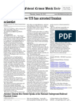 January 26, 2012 - The Federal Crimes Watch Daily