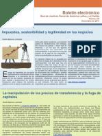 Boletin n°2 Red de Justicia Fiscal diciembre 2011