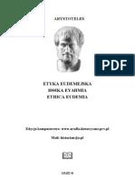 Arystoteles_Etyka Eudemejska