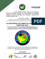 Convocatoria Encuentro 2012
