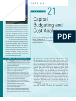 Cost Accounting Chapter 21 Publisher