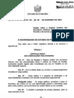 Regime Jurídico PB