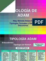 Tipologias Textuales - Adam