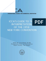 Guide to Interpretation of the NY Convention