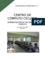 PROYECTO DE UN CENTRO DE CÓMPUTO