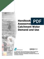 Handbook Catchment Water