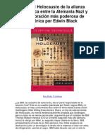 IBM y el Holocausto de la alianza estratégica entre la Alemania Nazi y la corporación más poderosa de América por Edwin Black - 5 estrellas reseña del libro