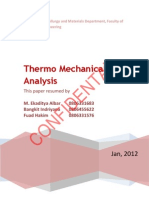 Thermomechanical Analysis