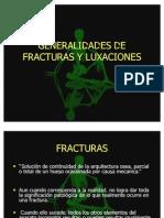 Gen. de Fracturas y Luxaciones