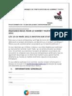 Invitation au YouthTrade™summit
