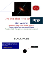 Alan Marscher- Jets from Black Holes in Quasars
