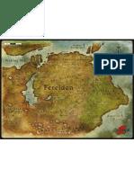 Dragon Age - Ferelden Map