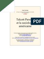 Parsons Socio Amer