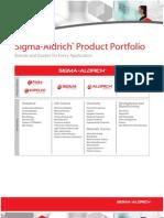 Sigma Aldrich Grading Chart
