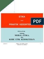 Ethics in Med. Practice (Unmas, Jkrt)
