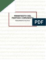 Manifiesto Del Partido Comunistaa
