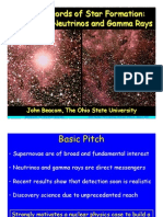 John Beacom- Fossil Records of Star Formation
