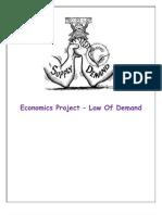 Law of Demand Pro
