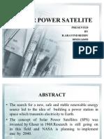 Solar Power Satelite Ppt