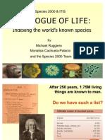 Catalogue of Life 2004