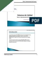 SC - 2012-1 - Tema 2. Administración de Procesos