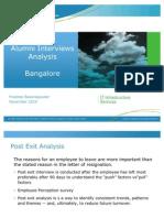 Post Exit Analysis - Ban Galore- Final