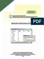Mengubah Konfigurasi Software