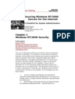 Securing Windows NT