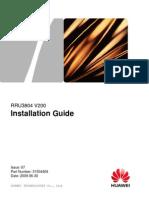 31504404-RRU3804 Installation Guide(V200_07)