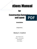 Construction Surveying Solutions Manual