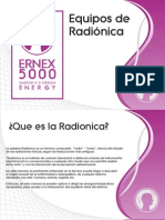 RADIONICA MÉXICO, ERNEX 5000