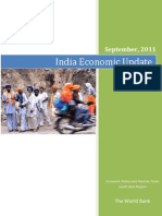 World Bank_India Economic Update_Sept 2011