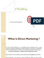 Direct and Internet Marketing