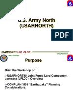 US Martial Law Plans - US Army North Conplan 3501