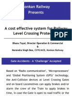 Gate Protection System -Konkan Railway