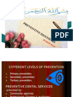 Community and Preventive Dintistry