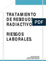 Riesgos Laborales en El Tratamiento de Residuos Radioactivos