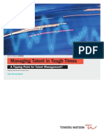 Managing Talent Pulse Survey 12-28-09