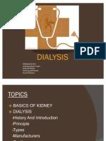 Dialysis Ppt