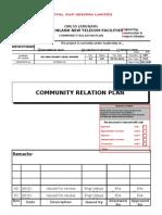 Community Relation Plan