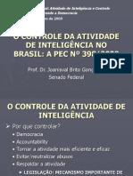 O Controle Da Atividade de Inteligencia No Brasil - PEC No 398-09
