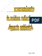 Almacenamiento de Residuos Radiactivos e Impacto Ambiental