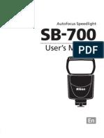 Manual SB-700