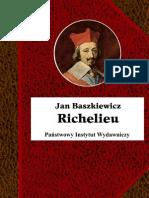 !Jan Baszkiewicz - Richelieu