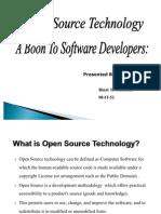 Open Source Technology